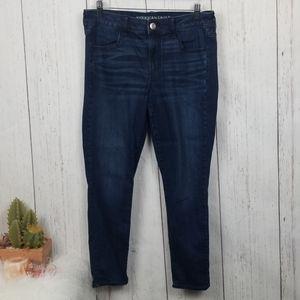 American Eagle jegging 12 short dark wash Jeans